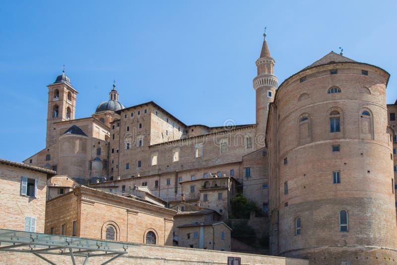 Urbino Ducal pałac zdjęcia royalty free