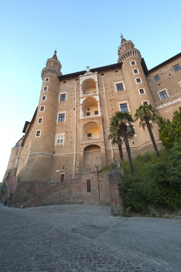 Download Urbino (Marches, Italy) - Palazzo Ducale Royalty Free Stock Photography - Image: 20765937