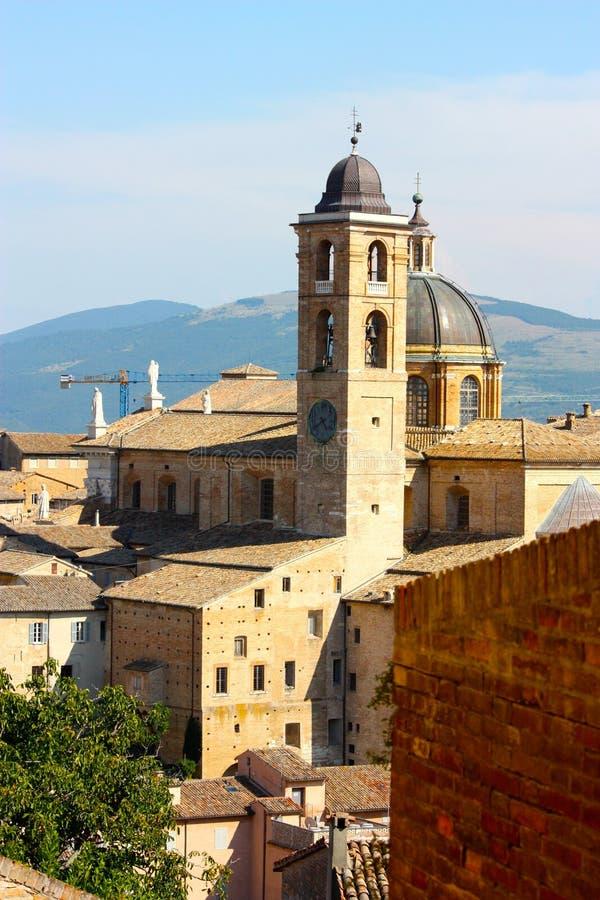 Urbino view royalty free stock image