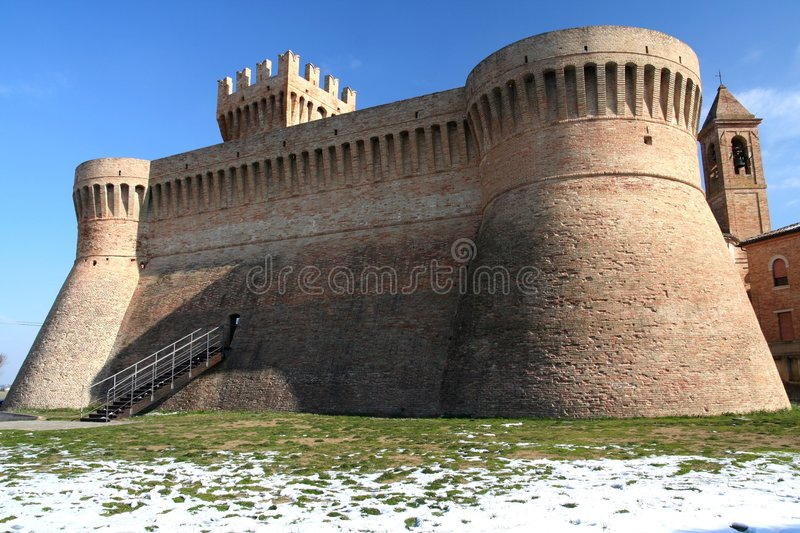 Download Urbisaglia Fortress stock photo. Image of house, marche - 8289568