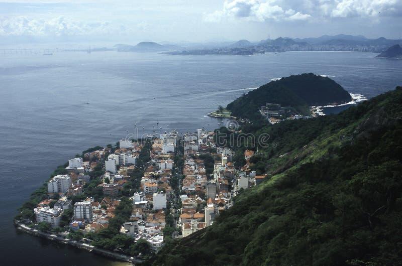 Urca district, Rio de Janeiro, Brazil. stock image