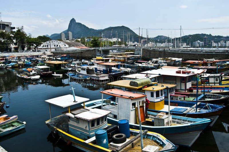 Urca kwadrat Rio De Janeiro, Brazylia, - obraz stock