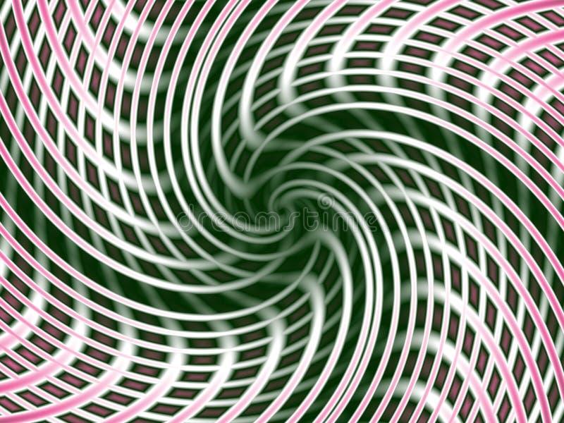 Urdidura da dimensão ilustração do vetor