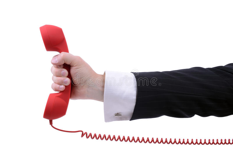Urgent call royalty free stock images