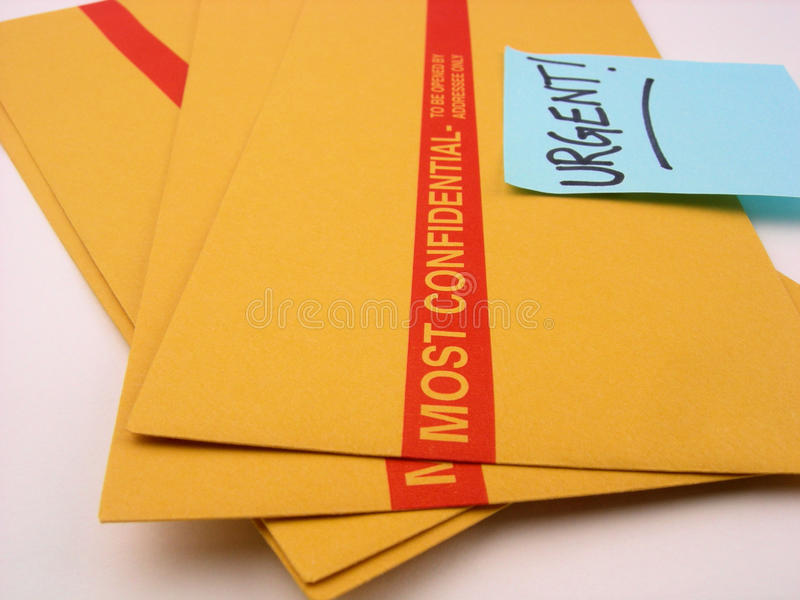 Download Urgent And Confidential Business Stock Photo - Image: 9382998