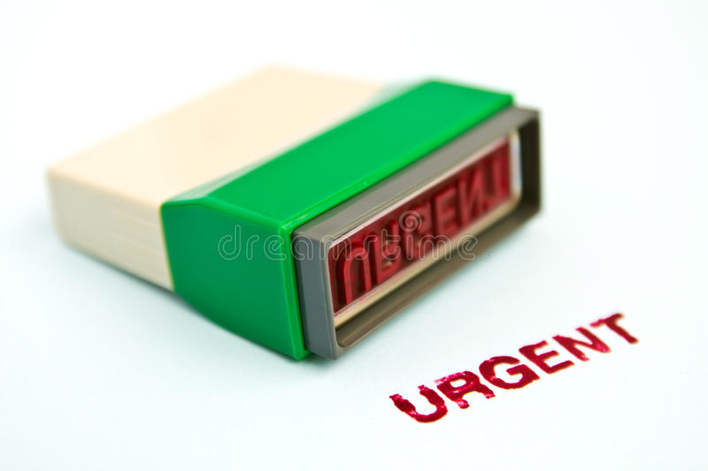 Download Urgent Letter On Green Rubber Stamp Stock Photo - Image: 19491292
