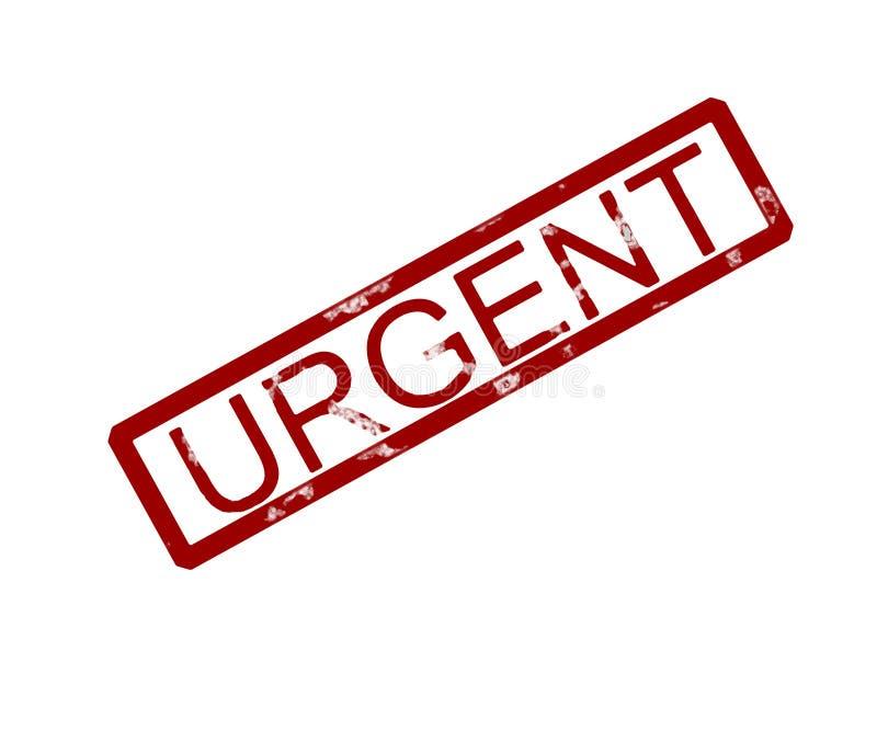 Download Urgent rubber ink stamp stock illustration. Illustration of notification - 159978