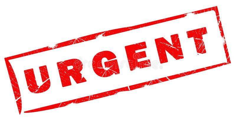 Urgent Stamp Stock Image
