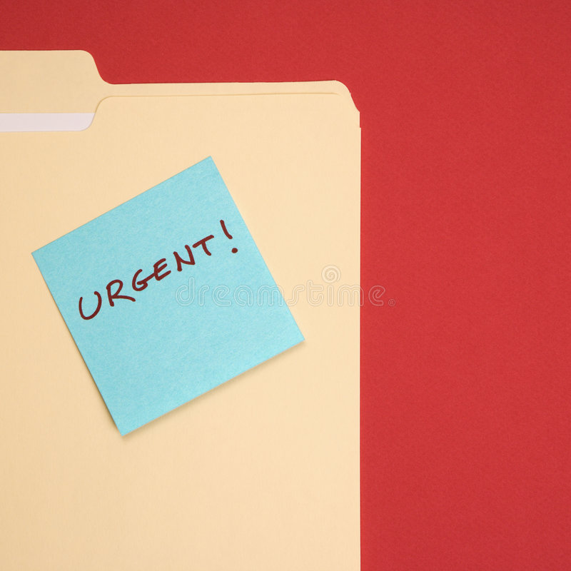 Download Urgent sticky note. stock image. Image of list, immediate - 2432217