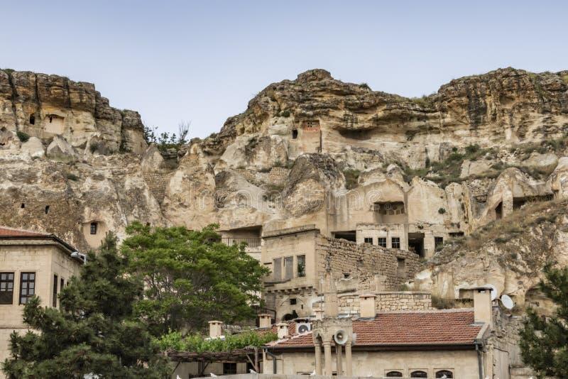 Urgup ist eine touristische Stadt und ein Bezirk von Nevsehir-Provinz in der zentralen Anatolien-Region von Tu stockbilder