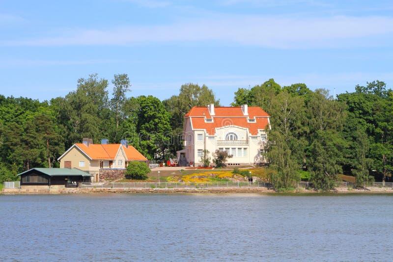 Urho Kekkonen Mseum, Helsinki/Finlande image libre de droits