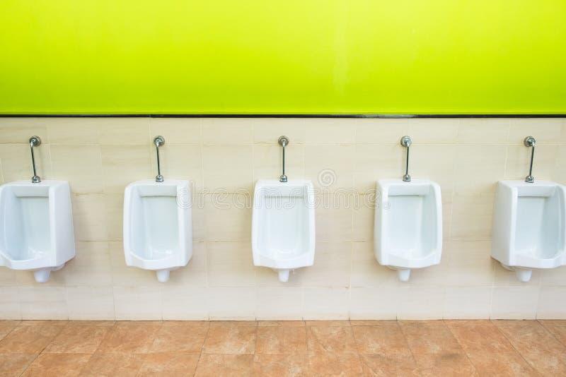 urinals imagem de stock