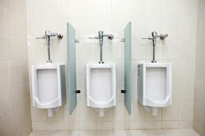 Download Urinals In Menu0027s Bathrooms. Stock Photos   Image: 34487213