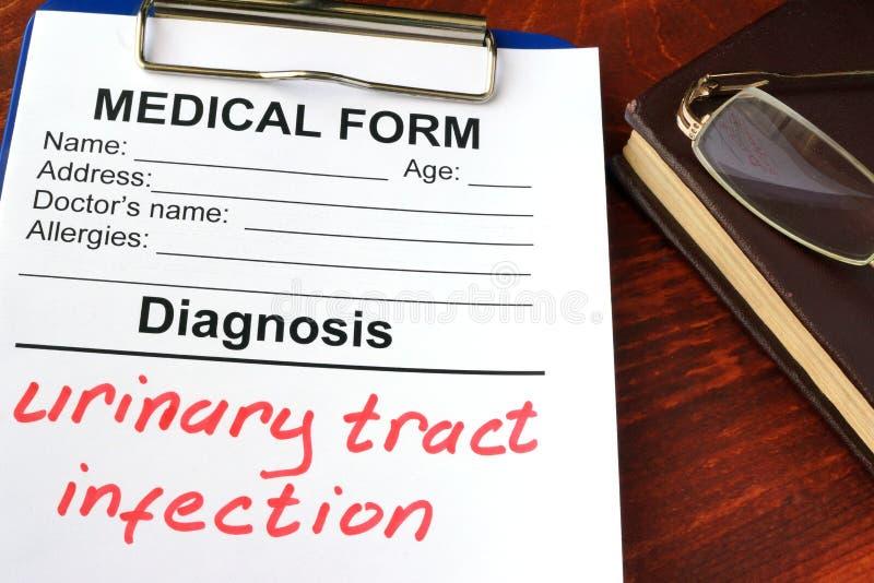 Urinary obszaru infekcja zdjęcia royalty free