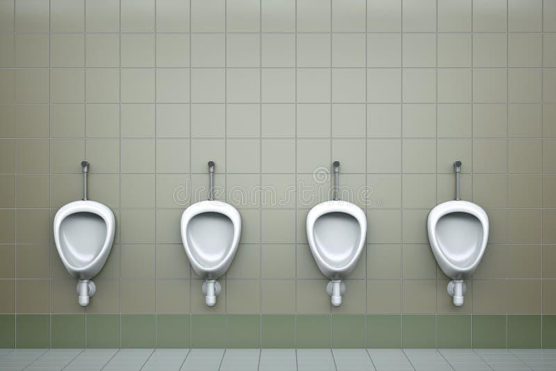 Urinaux illustration de vecteur