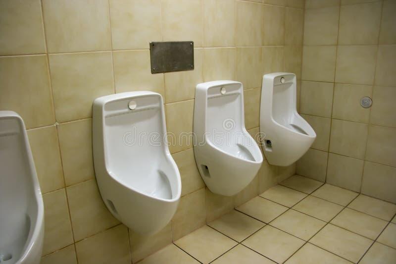 Urinaux photos libres de droits