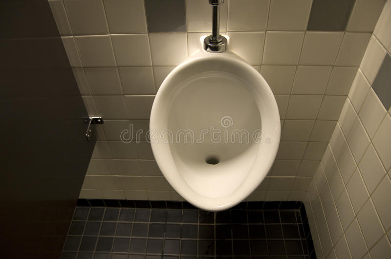 Urine toilet royalty free stock image