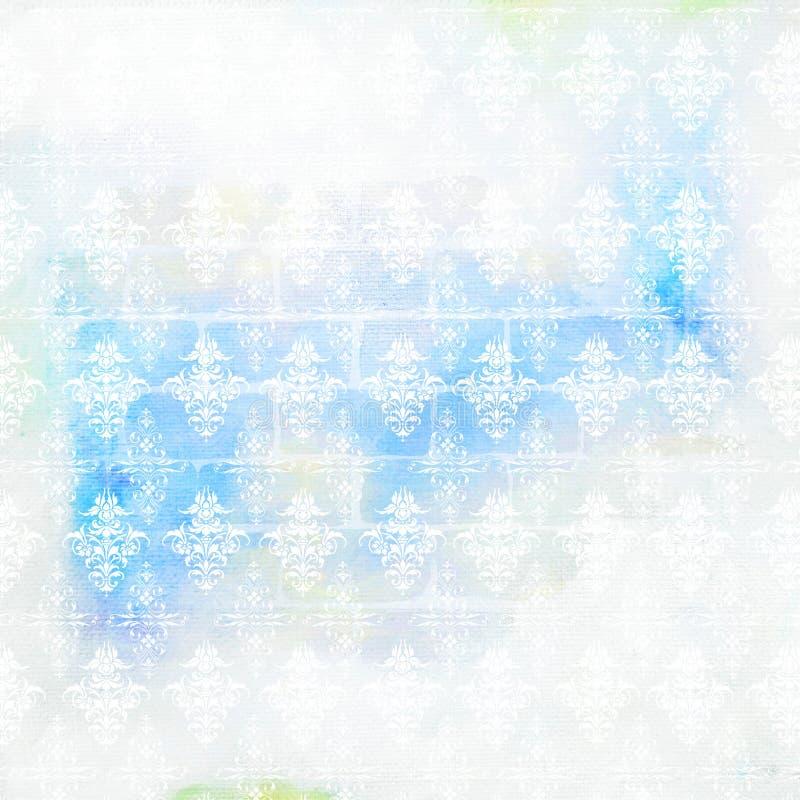 Urklippsbokbakgrundsvattenfärg royaltyfri foto