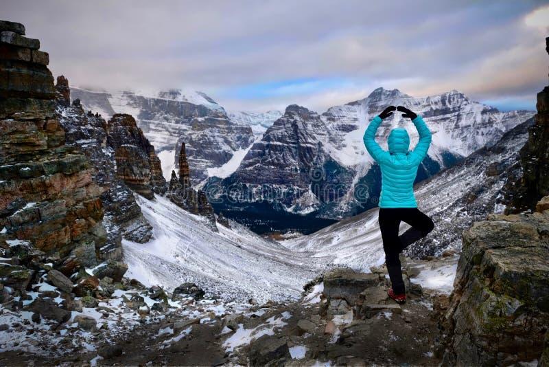 Urlopowa podróż w Banff parku narodowym zdjęcie royalty free