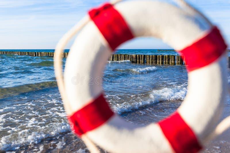 Urlopowy miejsce przeznaczenia Seashore obrazy stock