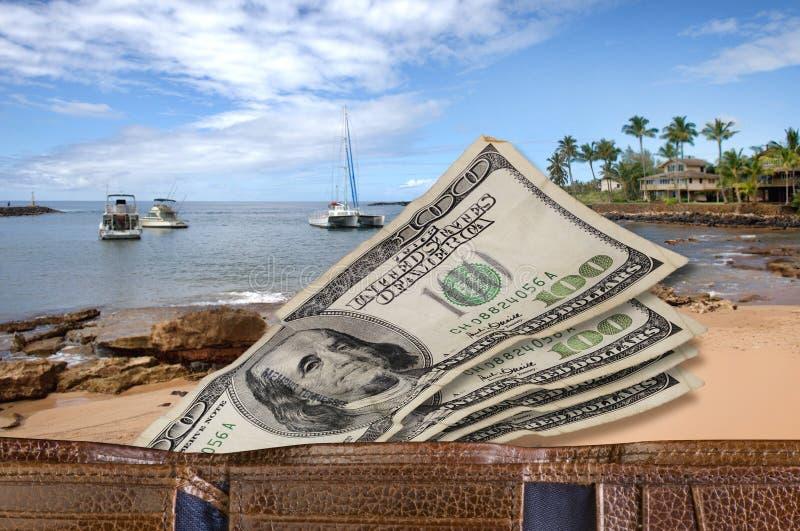 Urlopowy pieniądze. obrazy stock
