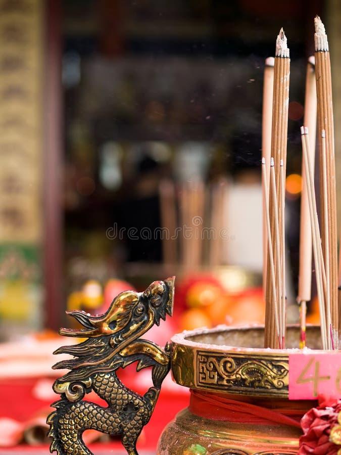 Urn do dragão foto de stock