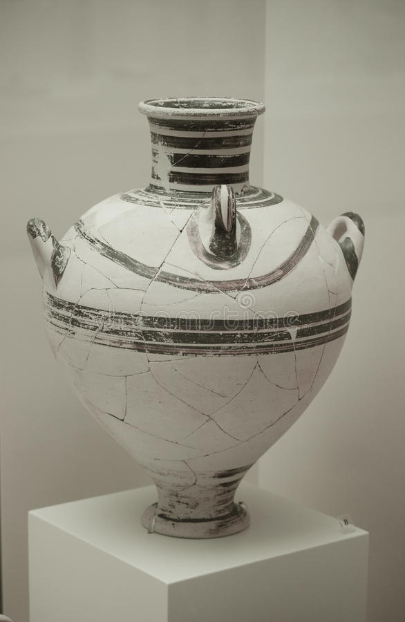 Urn Grecian fotografia de stock royalty free