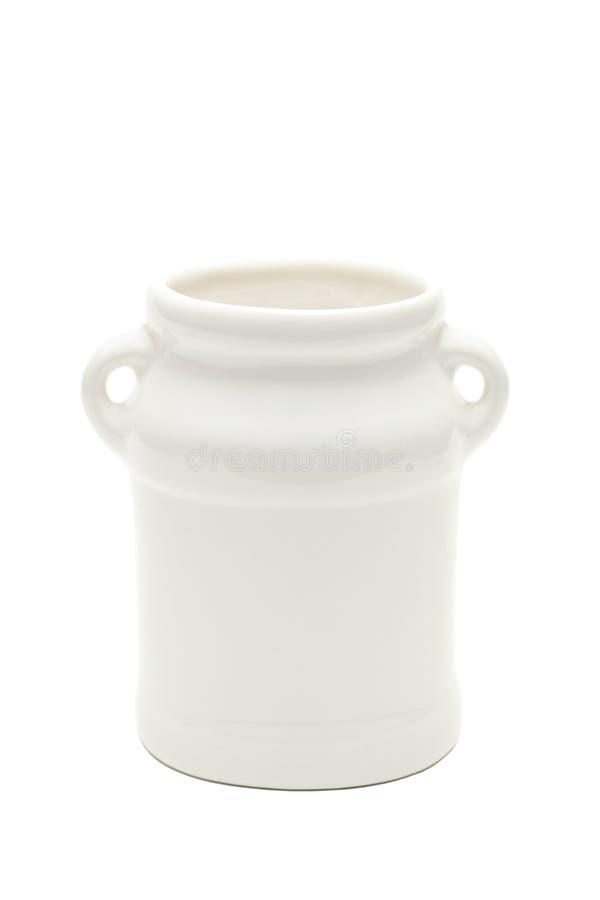 Urna del latte fotografie stock