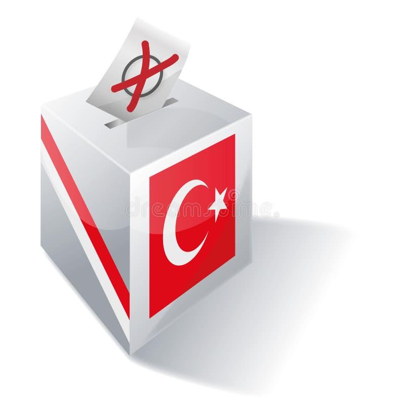Urna Turchia illustrazione di stock