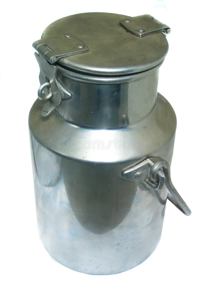 Urne de lait photos libres de droits