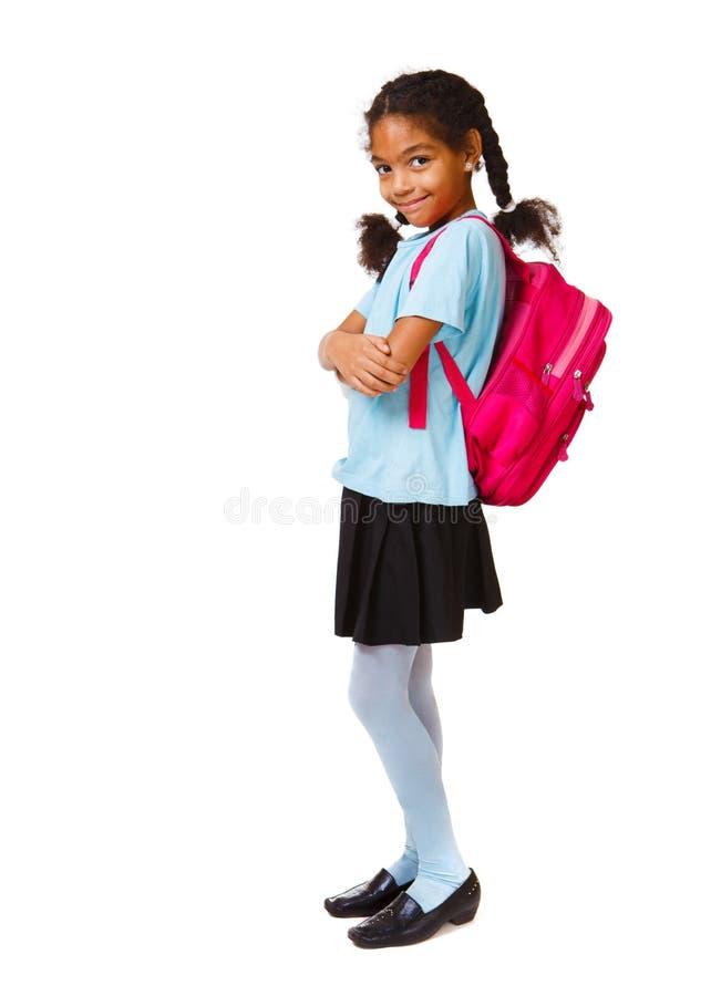 urocza Amerykanin afrykańskiego pochodzenia dziewczyna zdjęcia stock