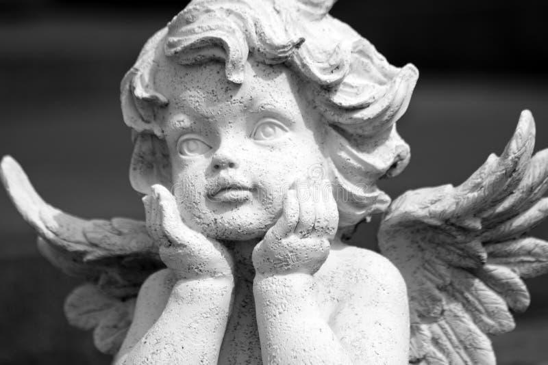 Urocza anielska postać obraz royalty free