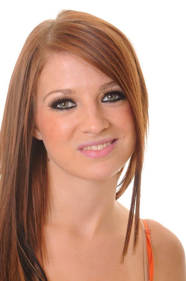 urocza brunetki dziewczyna fotografia stock