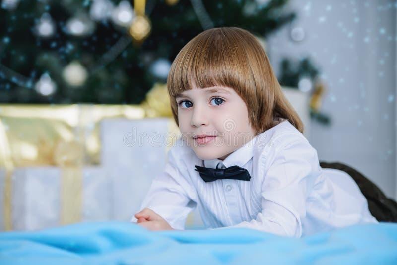 Urocza dziecko chłopiec obraz royalty free