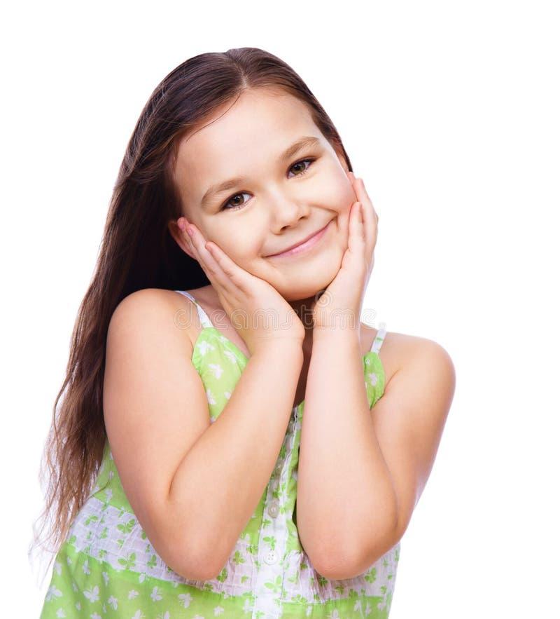 urocza dziewczyna zdjęcia stock