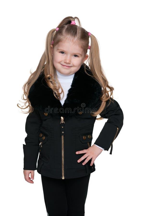 Download Urocza dziewczyna trochę zdjęcie stock. Obraz złożonej z dzieciak - 41951360
