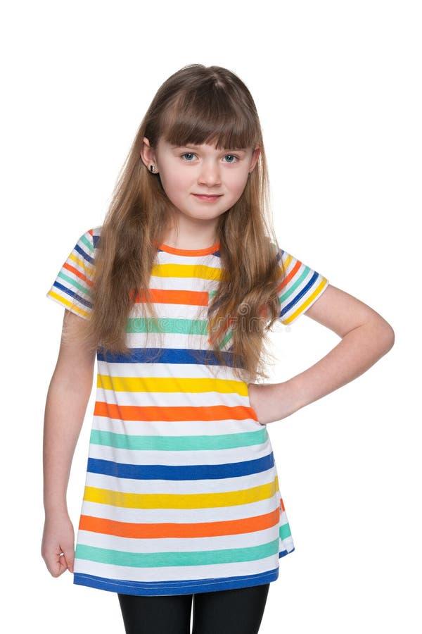 Download Urocza dziewczyna trochę zdjęcie stock. Obraz złożonej z dzieciństwo - 41951490