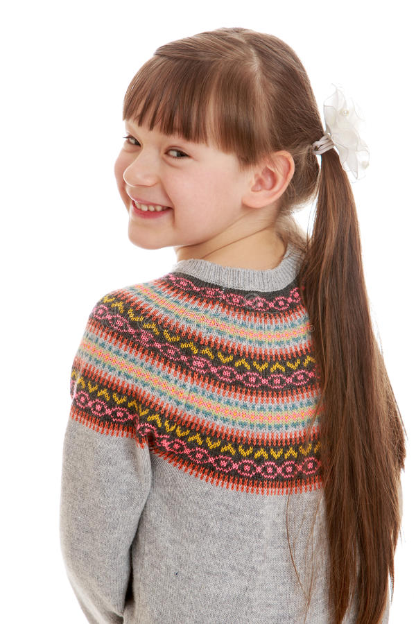 Download Urocza dziewczyna trochę obraz stock. Obraz złożonej z bajka - 57670153