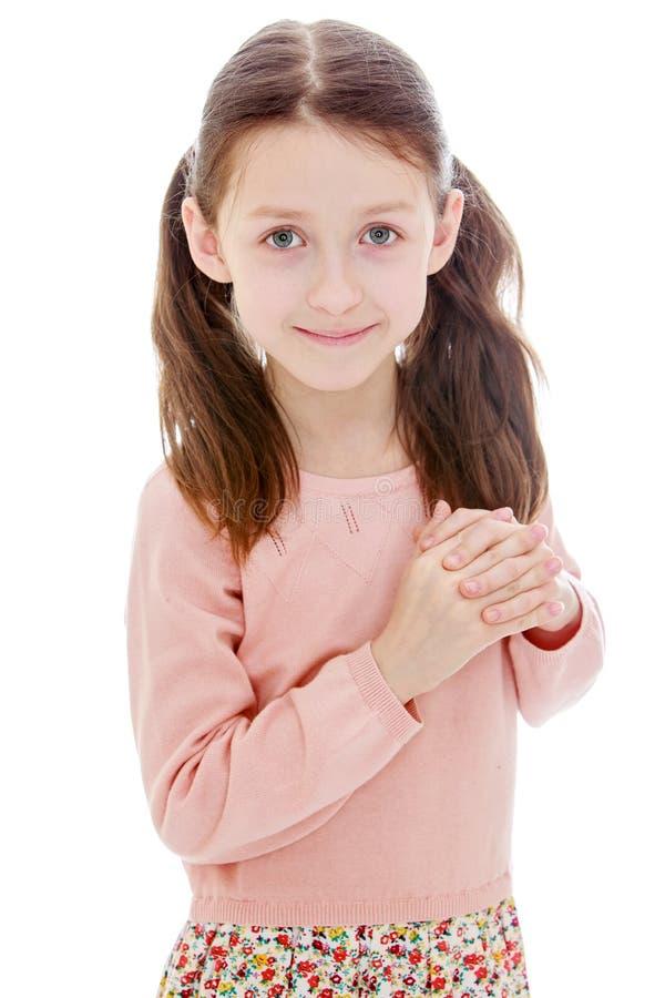 Download Urocza dziewczyna trochę obraz stock. Obraz złożonej z piękny - 57670953