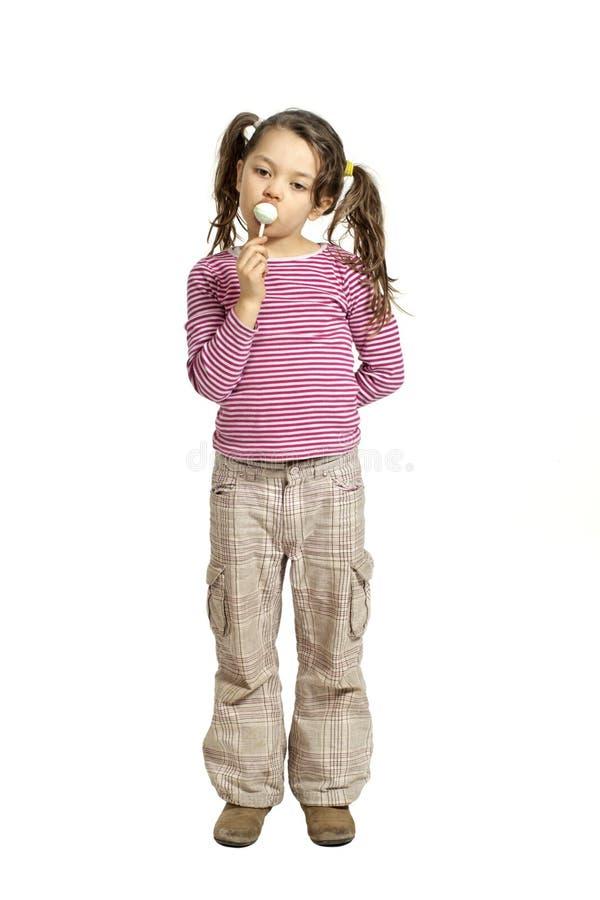 Urocza mała dziewczynka obrazy stock