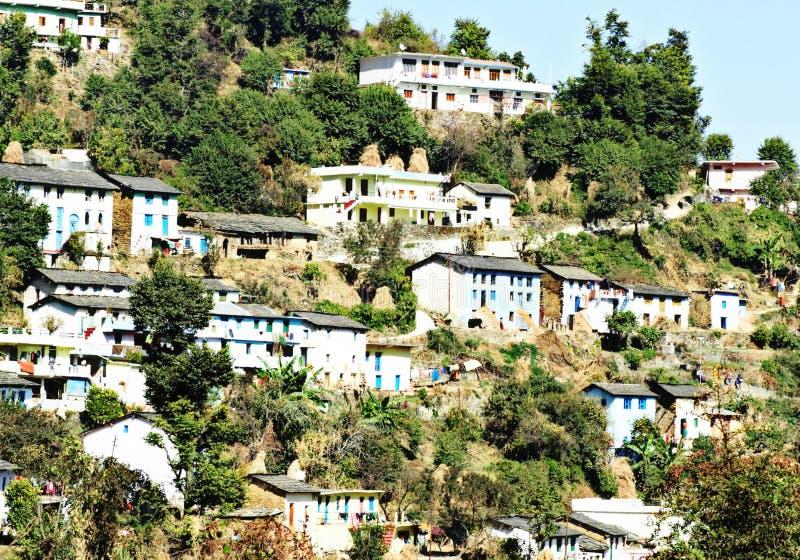 Urocza wioska obrazy royalty free