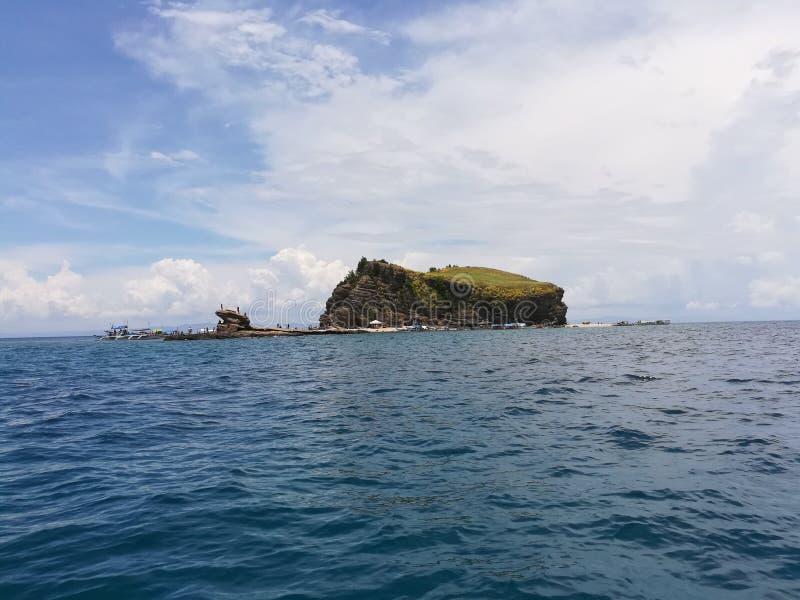 Urocza wyspa zdjęcia stock
