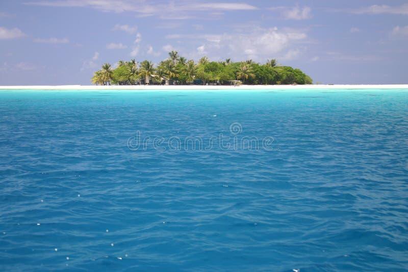 Urocza Wyspa Rangiroa. Bezpłatne Zdjęcie Stock