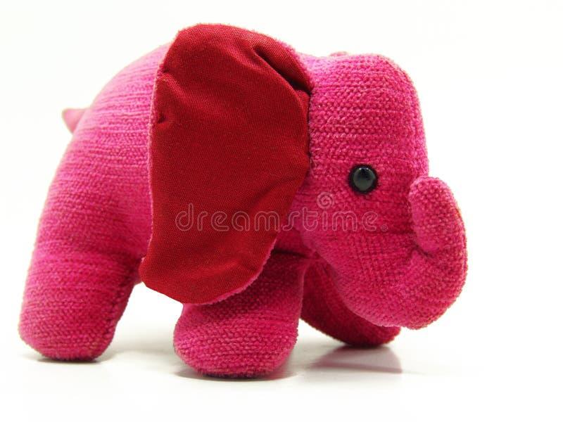 urocza zabawka słonia fotografia stock