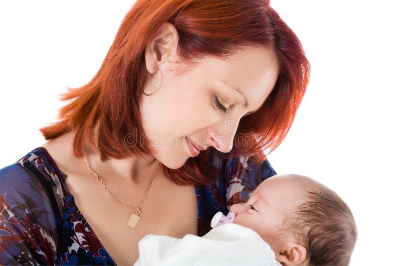 uroczego dziecka szczęśliwa matka zdjęcia royalty free