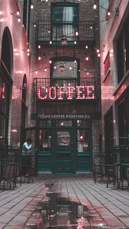 uroczego miejsca kawowy czas, odpoczynek, wakacje fotografia stock