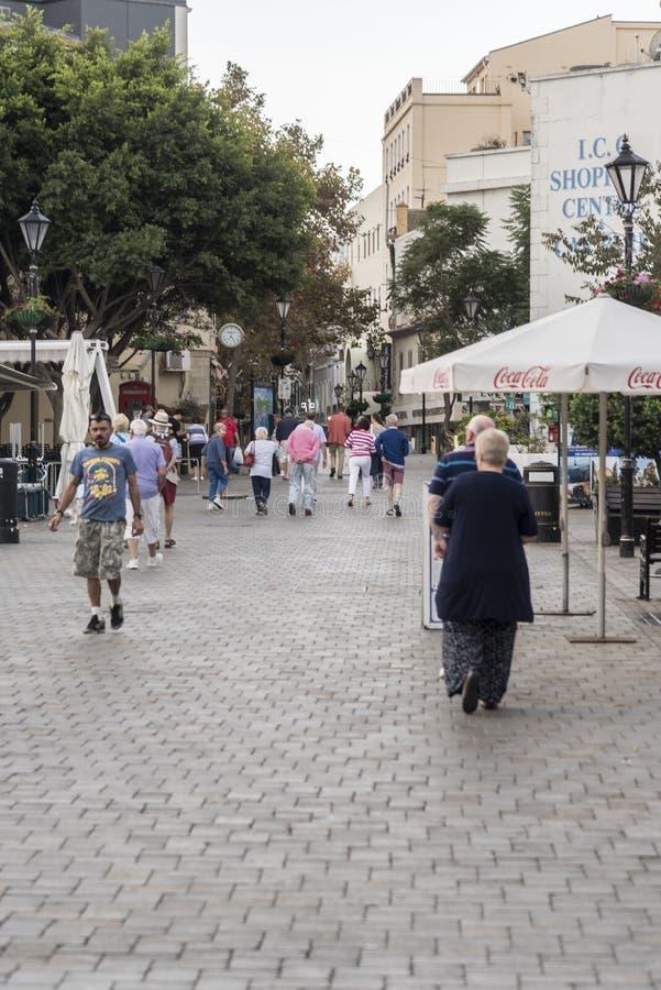 Uroczyści lufciki Kwadratowy Gibraltar zdjęcia royalty free