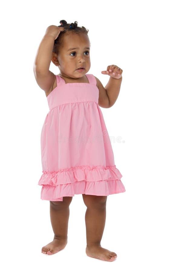 uroczy afrykański dziecko obraz stock