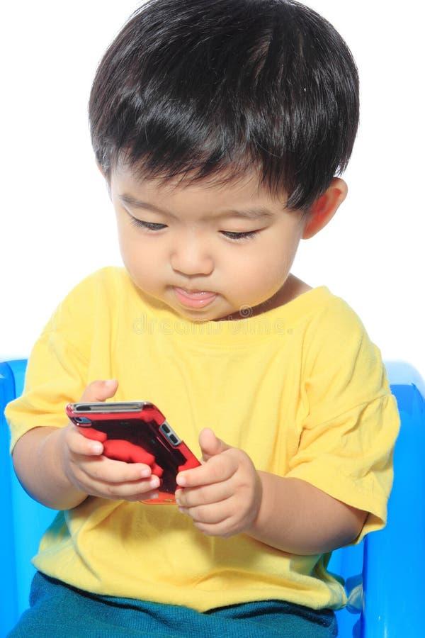 Uroczy Azjatycki dzieciak zdjęcia stock