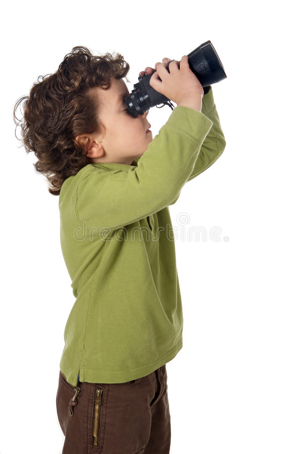 uroczy chłopiec fotografia stock